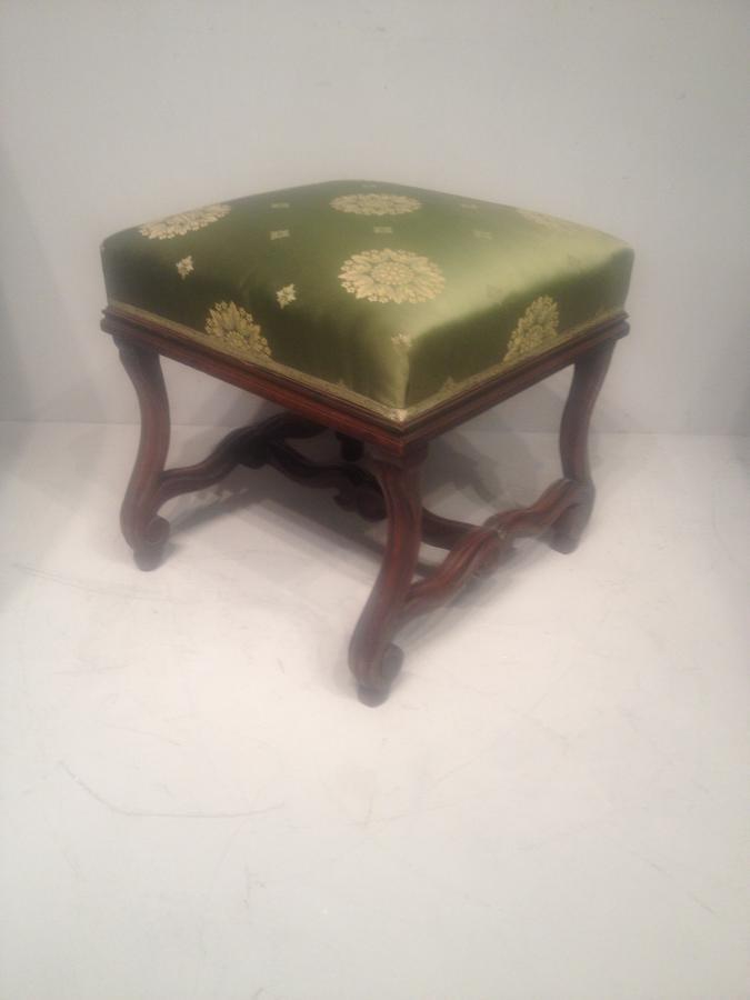 French walnut stool