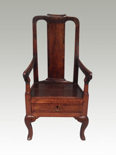 Queen Anne child's chair.