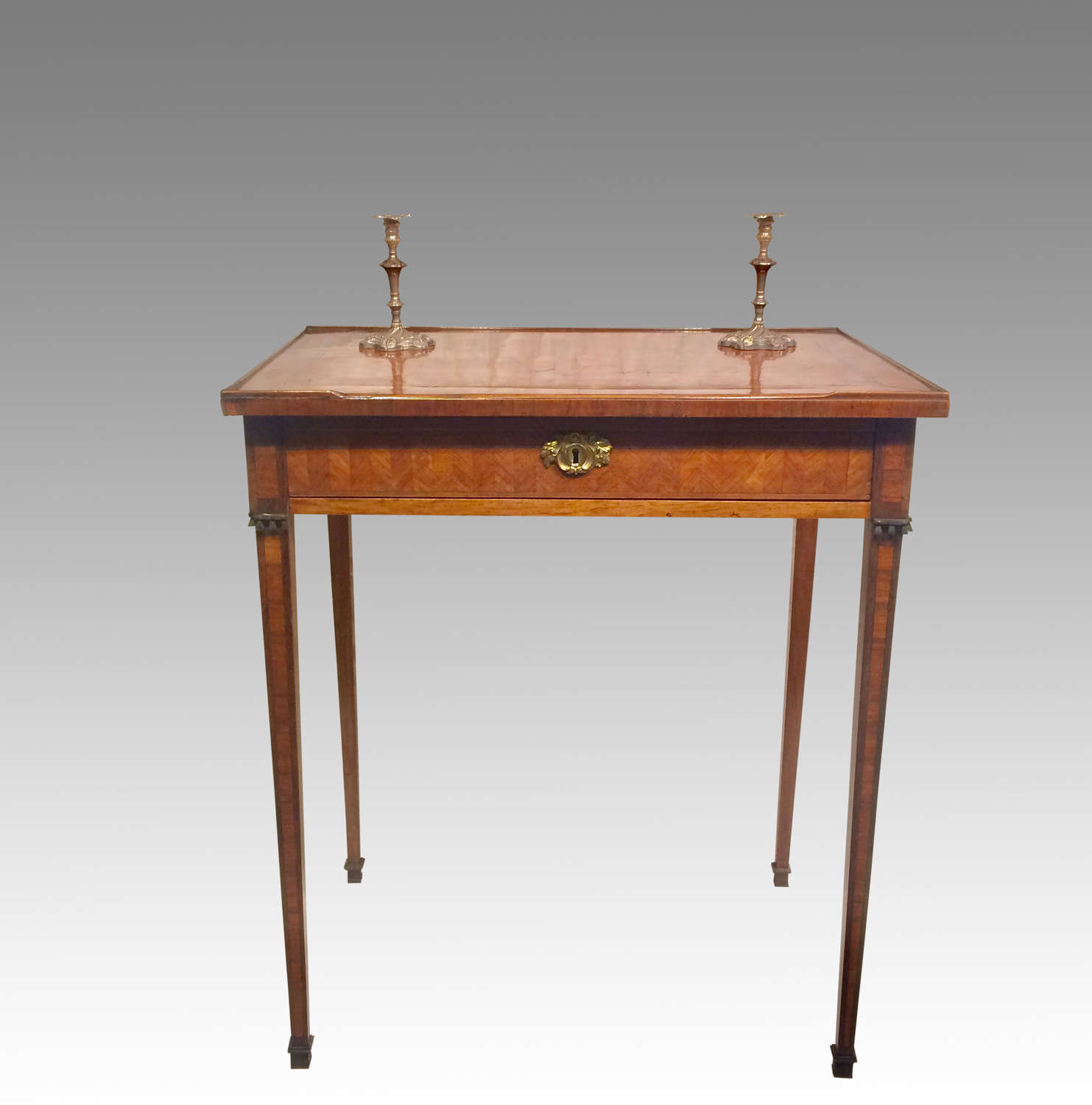 18th century French kingwood writing table.
